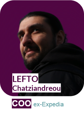 Naplify COO - Lefto Chatziandreou