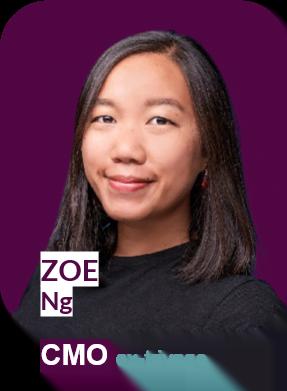 Naplify CMO - Zoe Ng